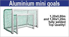 Aluminium mini goals